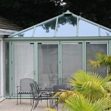 Chartwell Green Aluminium Conservatory