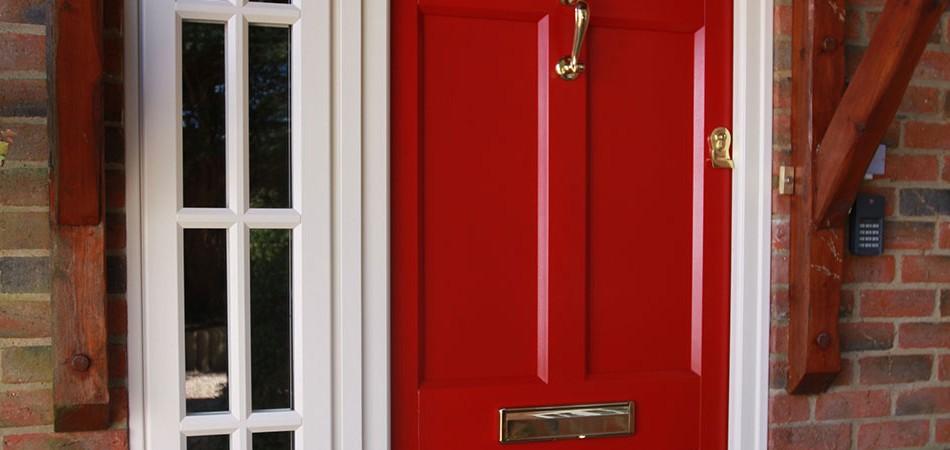 Composite Energy Efficient Door
