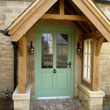 Chartwell Green Timber Entrance Door