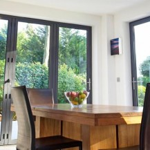 Aluminium Double Glazed Bi Fold Door