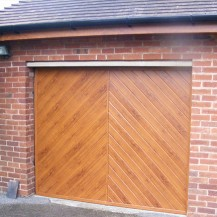 One Piece uPVC Garage Door