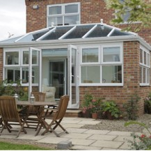 uPVC Orangery with French Doors