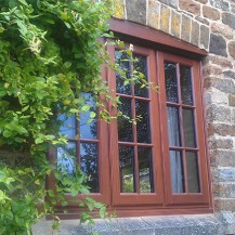 Timber Georgian Style Window