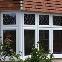 uPVC Bow Window